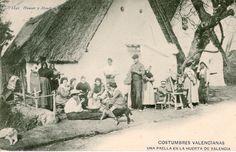 Una Paella en la huerta de Valencia, 1906