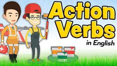 This video shows some action verbs in English for kids and beginners, with images to easily associate concepts and words. If you need the translation to anot. English Verbs, English Vocabulary, Action Cards, Youtube, Learn English, Card Games, Children, Kids, Education