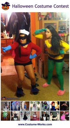 Homemade Costumes for Women - a lot of homemade costume ideas!