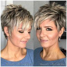 Short Hair Older Women, Hair Styles For Women Over 50, Short Thin Hair, Short Hairstyles For Women, Straight Hairstyles, Short Blonde, Short Haircuts, Blonde Hairstyles, Short Cropped Hairstyles