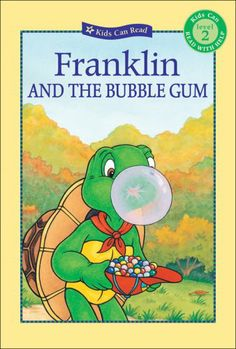 Franklin and the Bubble Gum (Kids Can Read) by Sharon Jennings,http://www.amazon.com/dp/1553378164/ref=cm_sw_r_pi_dp_V3bgtb00XN8BCGQH