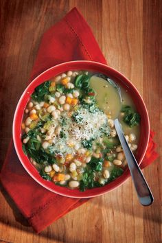 From Italy, zuppa di fagioli is often overlooked in favour of its more illustrious cousin, minestrone. alive.com
