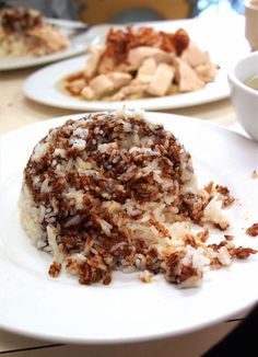 Navigating KL's street food: Chicken Rice at Restaurant Loke Yun Ampang.
