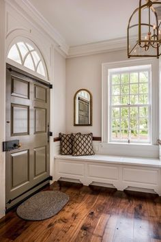 Foyer decorating – Home Decor Decorating Ideas Bedroom Wood Floor, Wood Floor Design, Deco Retro, Interior Design Boards, Interior Door, Furniture Design, Foyer Decorating, My Dream Home, New Homes