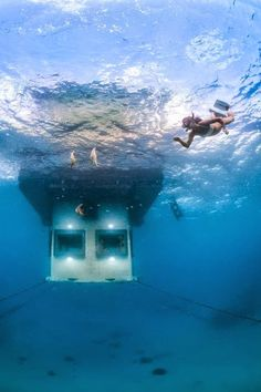 Underwater hotel room opens off the coast of Zanzibar — Amazing!