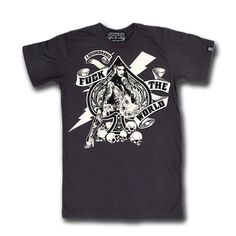 "Tee-shirt pour homme liquorbrand ""F.T.W spade"" esprit pin-up et tête de mort https://darkbettie-wearcom.securesitefr.com/boutique/123-tee-shirt-homme-liquorbrand-ftw-spade.html"