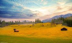 Garmisch-Deutschland by Tamim Photographer on Explore, Mountains, Landscape, Nature, Painting, Travel, Art, Germany, Art Background