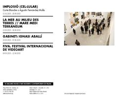 ArtPalma Brunch 2015 Es Baluard Museu d'Art Modern i Contemporani de Palma