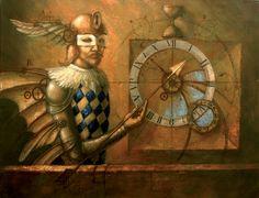 "Jake Baddeley  ""Chronos""  Oil on canvas, 2006."