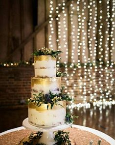 Beautifully elegant buttercream wedding cake with edible gold leaf and frech filiage ans thistle. Home Wedding Inspiration, Wedding Ideas, Edible Gold Leaf, Buttercream Wedding Cake, Cake Pictures, Beautiful Wedding Cakes, Wedding Cake Designs, Wedding Pictures, Special Day