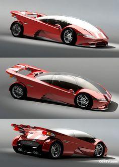 Future Car Concept [Futuristic Cars: http://futuristicnews.com/category/future-transportation/]