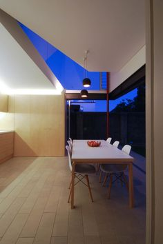 Residential projects by Welsh + Major Architects Granny Flat, Skylight, Interior Architecture, Terrace, Welsh, Table, Furniture, Angles, Architects