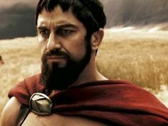 Leonidas Absolutely in love with his beard