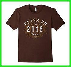 Mens Retro Shirt: Class Of 2016 Class Reunion Shirt 3XL Brown - Retro shirts (*Amazon Partner-Link)