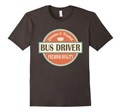 Bus Driver T-shirt Vintage Logo Job Tee - Male Small - Asphalt Homewise Shopper http://www.amazon.com/dp/B018SJSEVG/ref=cm_sw_r_pi_dp_B9yzwb01BBPS3