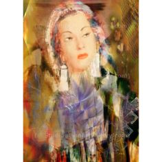Five Octaves - By John Robert Beck  This art was created 2009. Five Octaves is a portrait of the noted Peruvian singer Yma Sumac.  ARTIST NOTE: I had the privilege of meeting Yma Sumac several times. I have seen her perform in both New York and Chicago. This art was created shortly after Yma Sumac's passing. Her amazing 5 octave voice lives on. - J.B. $3.00