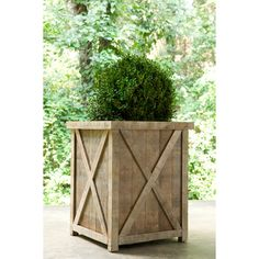 Great Planter box. Azobe is an extremely dense wood that makes pressurized preservative treatment unnecessary.