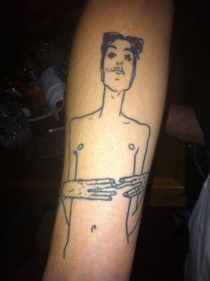 Egon Schiele tattoo
