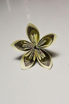 54 best money flowers origami images on pinterest in 2018 money money flower origami tutorial dollars diy gift bill paper a simple flower of 3 dollar bills mightylinksfo