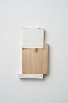 Fernanda Gomes Untitled, 2013 Wood, paint 21.9 x 13.9 x 0.2 cm / 8 5/8 x 5  Alison Jacques Gallery