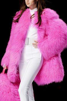 Blumarine at Milan Fashion Week Fall 2012 - Details Runway Photos Fur Fashion, Pink Fashion, Womens Fashion, Milan Fashion, Pink Love, Pretty In Pink, Wear It Pink, Pink Day, Fabulous Furs