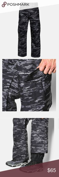 Men's Under Armour Ski Snowboard Pants This pair of men's Under Armour Coldgear Infrared Snocone pants for skiing or snowboarding are in EUC with no rips, tears or snags. They were only worn two times. They are a size large. Under Armour Pants