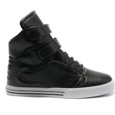 Supra Tk Society Patent Lakers Black High Tops Men Shoes
