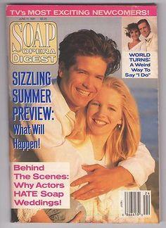 Soap Opera Digest 1991 June 11 Michael Damian Lauralee Bell