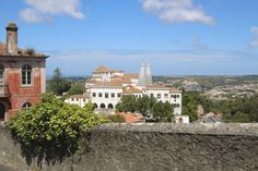Portugal, A Place Of Beginnings, Visiting Sintra & Cascais From Lisbon - by Ralph Grizzle @avidcruiser, USA Today 11.08.2012 | Photo: The Sintra National Palace. © 2012 Ralph Grizzle