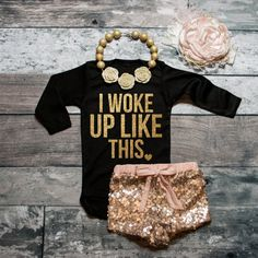 ***PLEASE NOTE*** This listing is for the SHIRT only.  Hello lovelies! ♥  Youve found it! The perfect shirt for your little darling. Am I