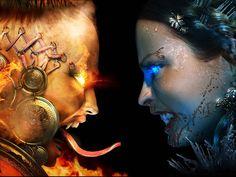 57 best good vs evil images on pinterest angels and demons