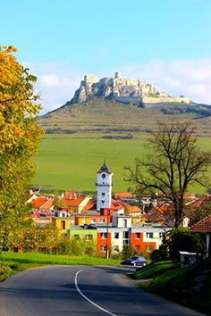 Spišský hrad. The ruins of Spiš Castle in eastern Slovakia form one of the largest castle sites in Central Europe. The castle is situated above the town of Spišské Podhradie and the village of Žehra, in the region known as Spiš.