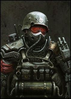 Post_soldr Picture  (2d, sci-fi, soldier, armor)