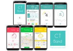 Ct Band applications  #ctband #app #wearable #hightech