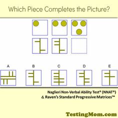 Can your child solve it? #NNAT #practice #questions