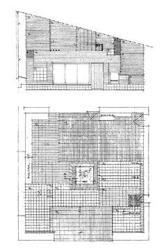 Muuratsalo Experimental House, Muuratsalo, Finland / Alvar Aalto