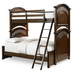 Price Comparisons For Samuel Lawrence Expedition Bunk Twin Bed in Cherry with Ladder Guard Rail and Full Bed Extension Cheap Twin Full Bunk Bed, Full Bed, Bed Extension, Beds For Sale, Beds Online, Bed Reviews, Bed Styling, Bedding Sets, Furniture