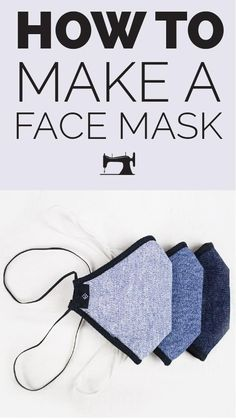 Sewing Patterns Free, Sewing Tutorials, Sewing Projects, Free Pattern, Cat Pattern, Free Sewing, Easy Face Masks, Diy Face Mask, White Face Mask