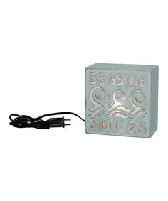 Love this 'Seaside Smiles' Light Box Night-Light by Primitives by Kathy on #zulily! #zulilyfinds