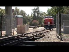 The Most Amazing Railroad Video, This is a Must See. F-unit Crosses the Union Pacific Main Line - YouTube