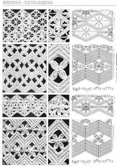 Häkelmuster Openwork / crochet patterns