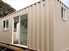 Premium steel aluminum shipping containers for sale in Hawaii Container Van, Storage Container Homes, Shipping Containers For Sale, Shipping Container Homes, Moving Containers, Social Housing, Building A Shed, Home Additions, Shed Plans