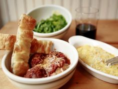 The Meatball Shop: Pork Meatballs and Spicy Meat Sauce