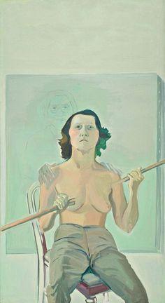 Die Österreicherin Maria Lassnig malte Bilder voller Selbstironie. Sie hat nahezu alle Stilrichtungen der Nachkriegszeit in ihrer Kunst aufgegriffen.