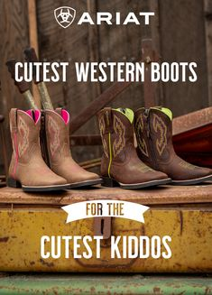 Custom Personalized Applique Gingham COWBOY BOOTS and NAME Bodysuit or Shirt Medium Pink and Brown