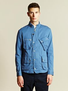 Nonnative Men's Chino Cloth Rider Jacket   LN-CC