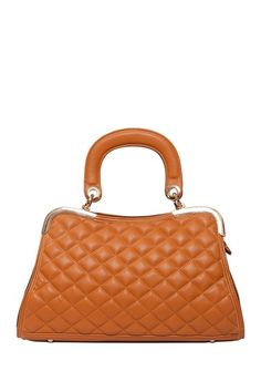 Charlotte Quilted Satchel by Elise Hope on @HauteLook
