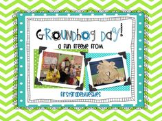 GroundHog DaY Art, Math, and Writing Freebie! from FirstGradeBlueSkies on TeachersNotebook.com -  (7 pages)