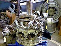 The Pratt & Whitney Double Wasp is a twin-row, radial aircraft engine. Bike Engine, Jet Engine, Plane Engine, Aircraft Engine, Ww2 Aircraft, Motor Radial, Radial Engine, Engine Pistons, Aircraft Maintenance