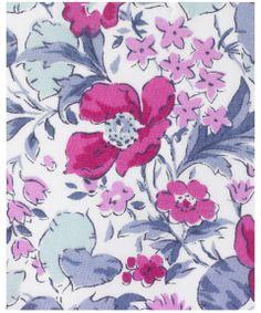 Poppy and Honesty M Tana Lawn   Liberty Art Fabrics